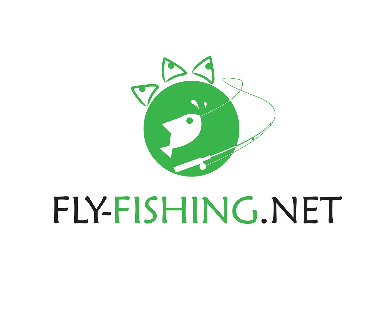 Logo Design by jhunzkie24 - Entry No. 71 in the Logo Design Contest Artistic Logo Design for fly-fishing.net.