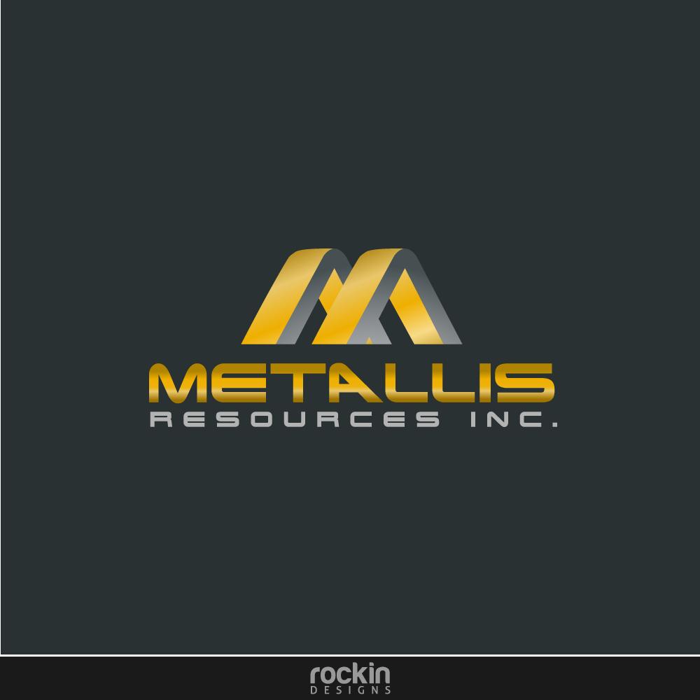 Logo Design by rockin - Entry No. 40 in the Logo Design Contest Metallis Resources Inc Logo Design.