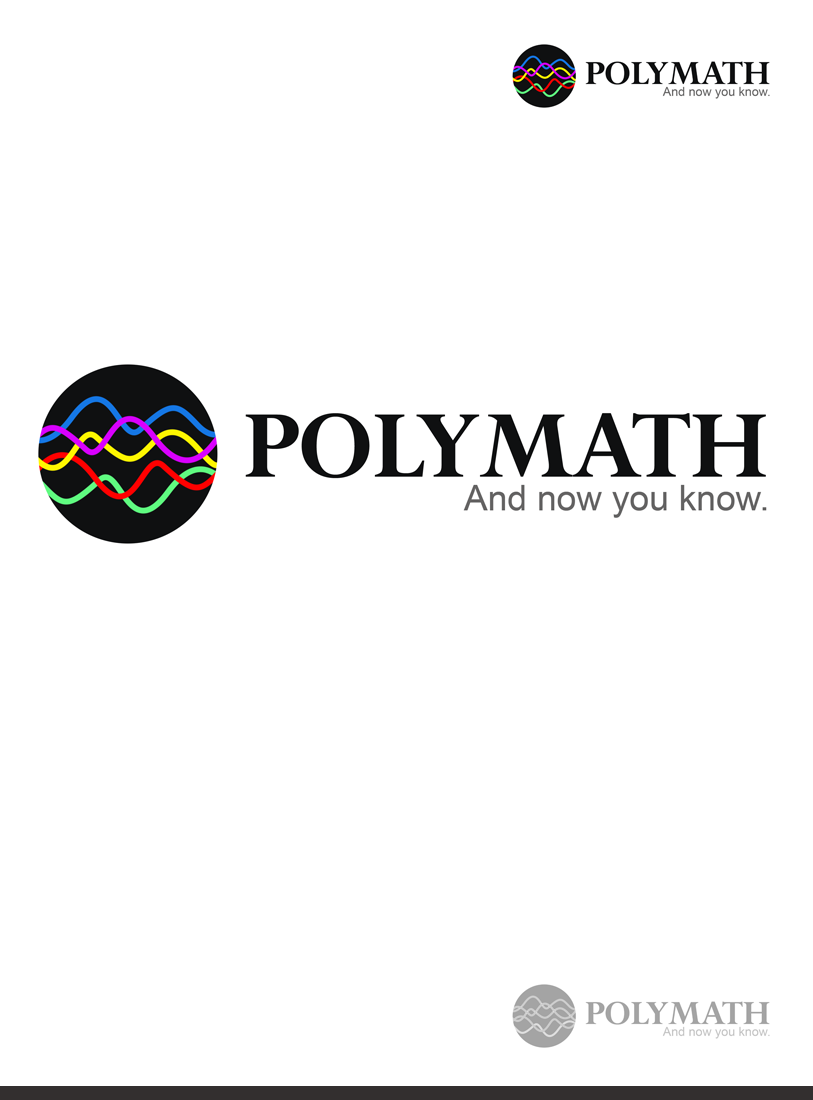 Logo Design by Private User - Entry No. 59 in the Logo Design Contest Imaginative Logo Design for Polymath.