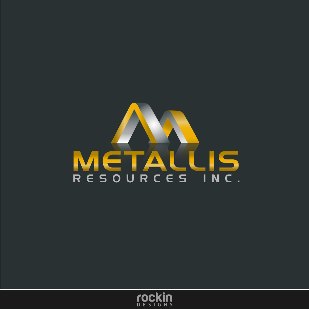 Logo Design by rockin - Entry No. 46 in the Logo Design Contest Metallis Resources Inc Logo Design.