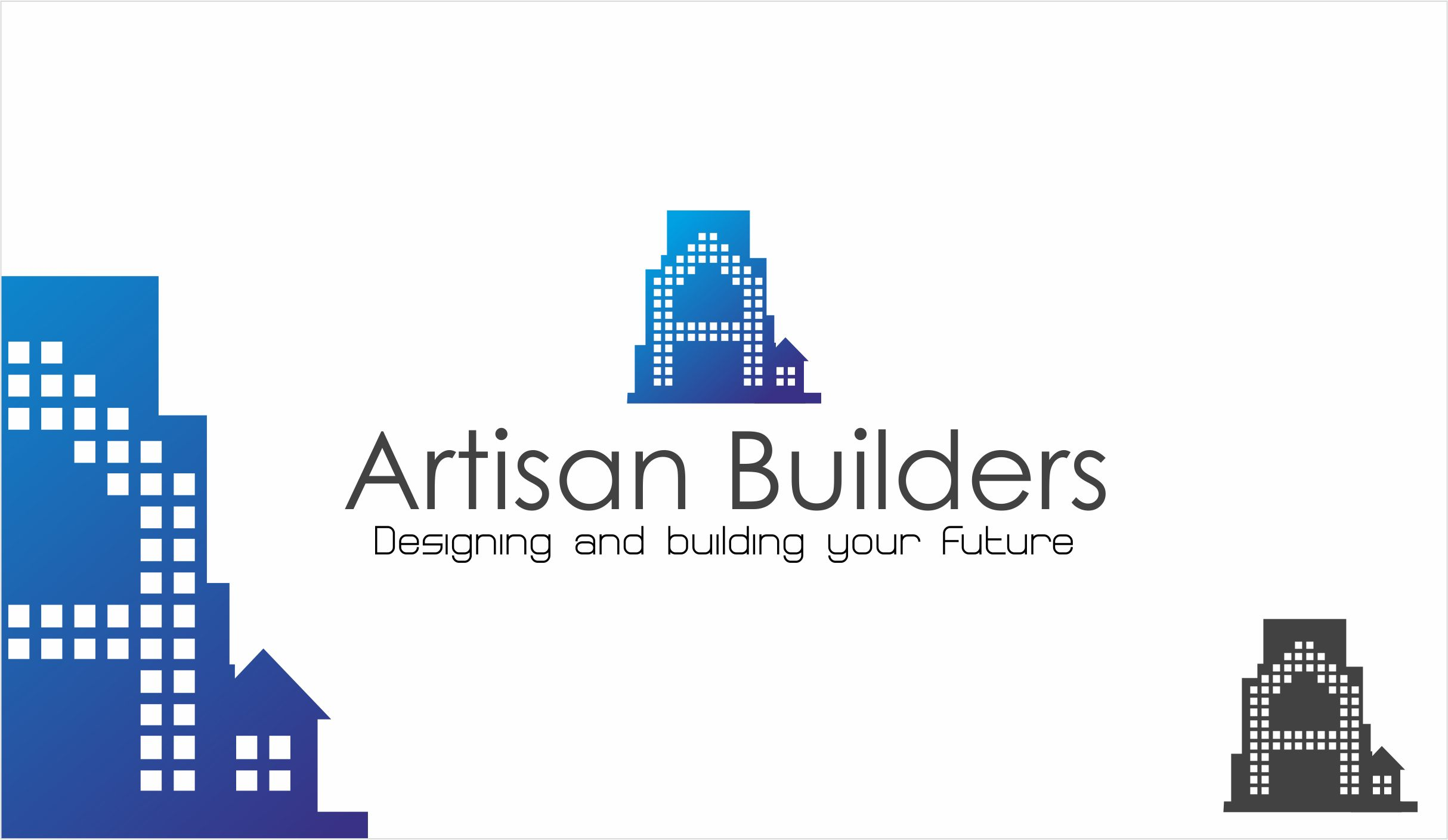 Logo Design by Asif Shaikh - Entry No. 174 in the Logo Design Contest Captivating Logo Design for Artisan Builders.