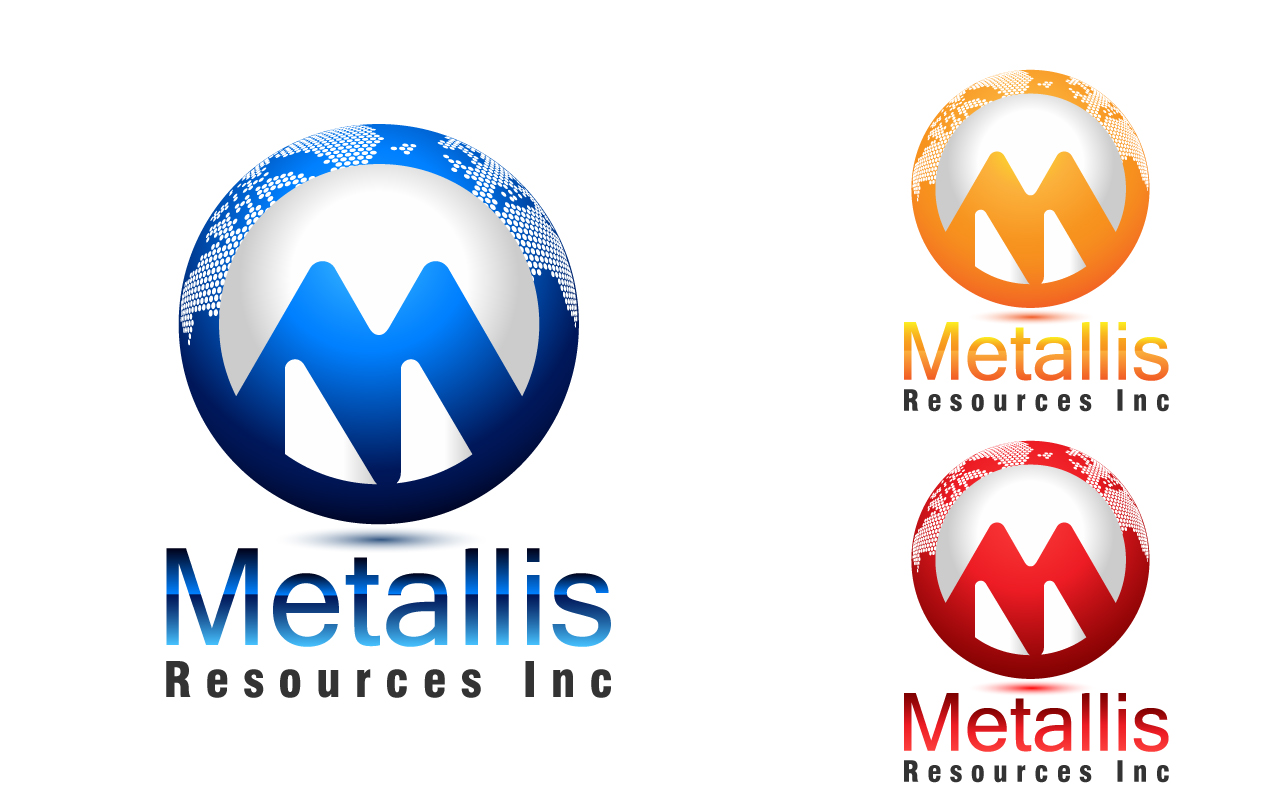 Logo Design by Jagdeep Singh - Entry No. 47 in the Logo Design Contest Metallis Resources Inc Logo Design.