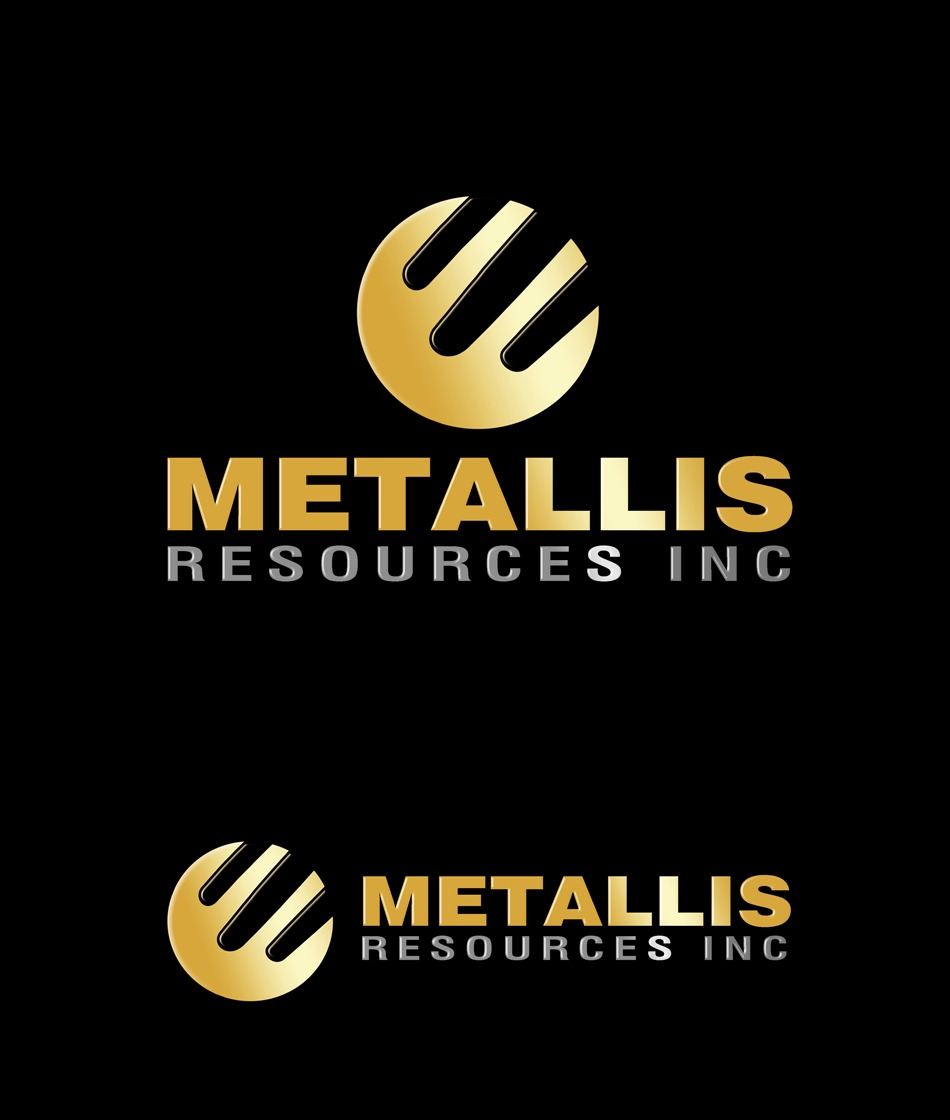 Logo Design by Respati Himawan - Entry No. 50 in the Logo Design Contest Metallis Resources Inc Logo Design.