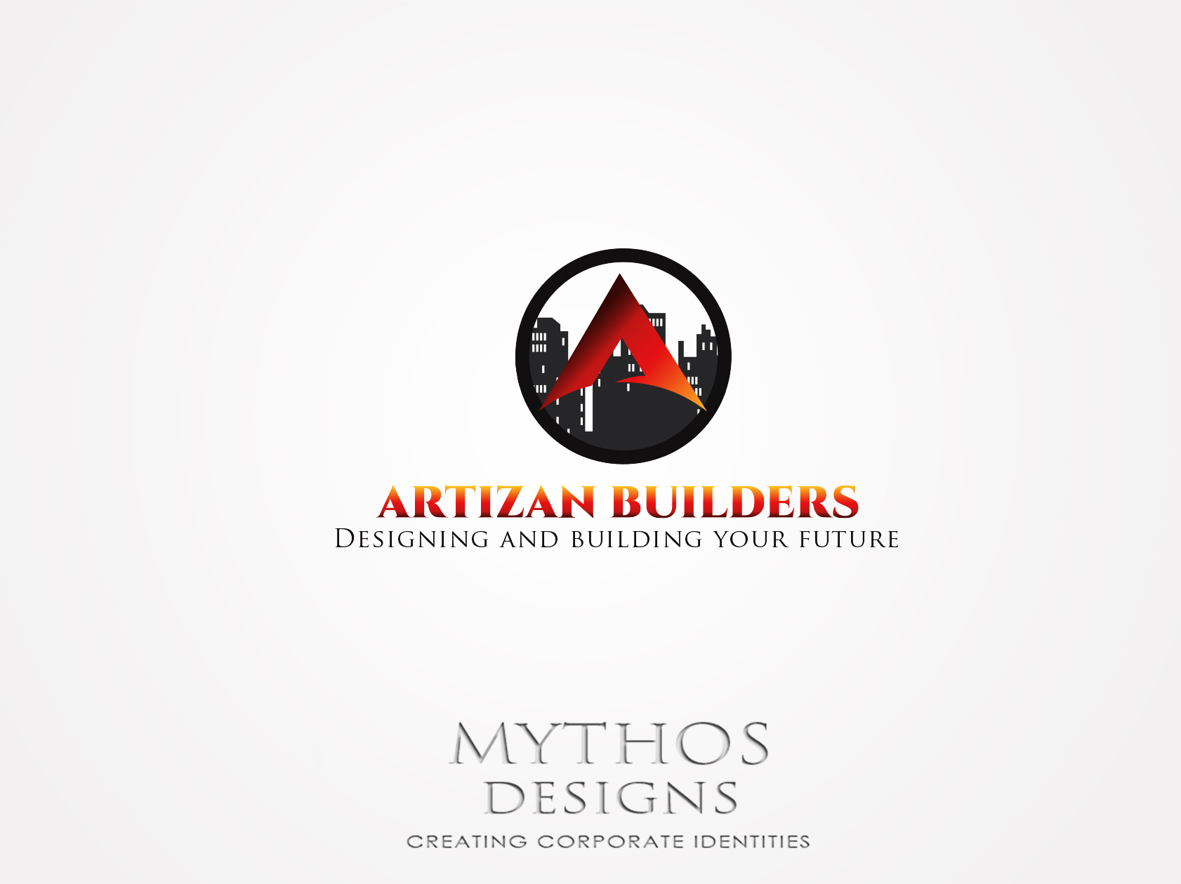 Logo Design by Mythos Designs - Entry No. 177 in the Logo Design Contest Captivating Logo Design for Artisan Builders.