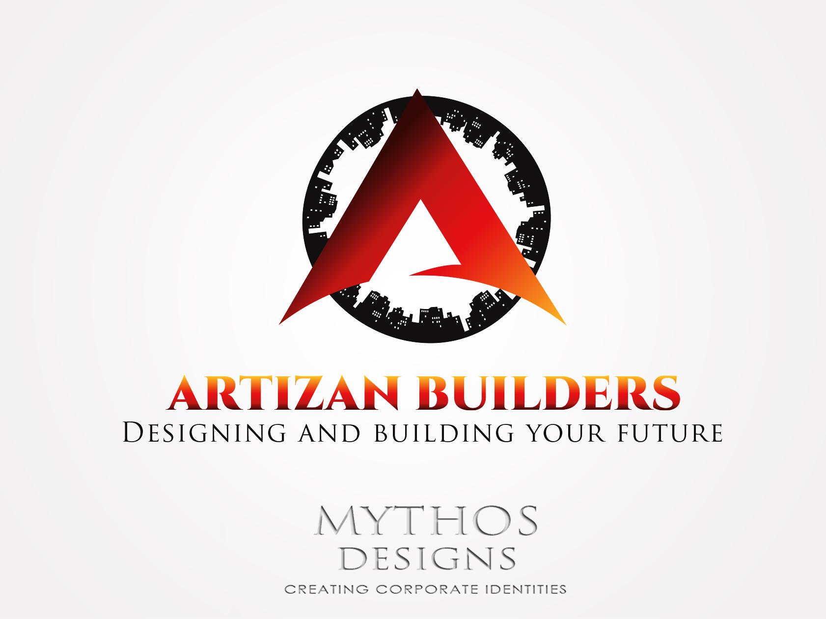 Logo Design by Mythos Designs - Entry No. 179 in the Logo Design Contest Captivating Logo Design for Artisan Builders.
