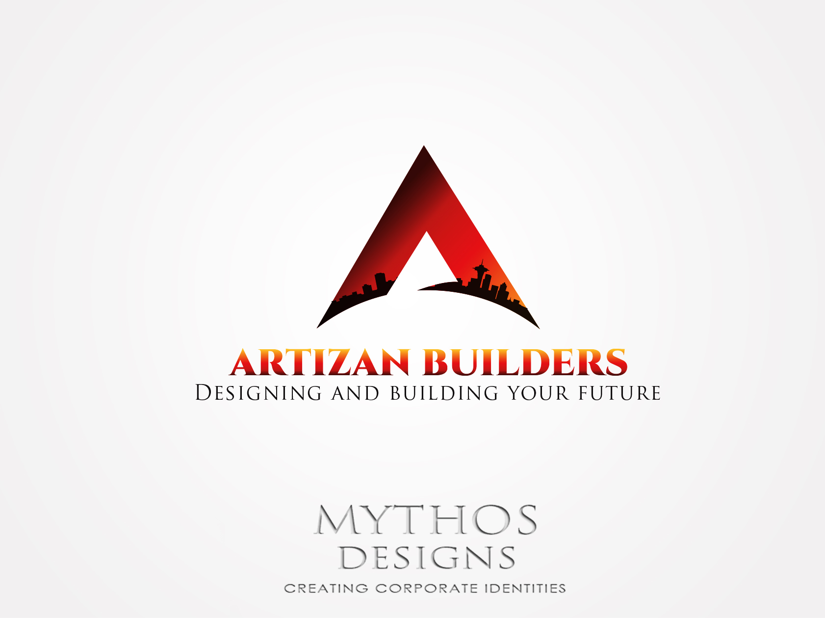 Logo Design by Mythos Designs - Entry No. 180 in the Logo Design Contest Captivating Logo Design for Artisan Builders.
