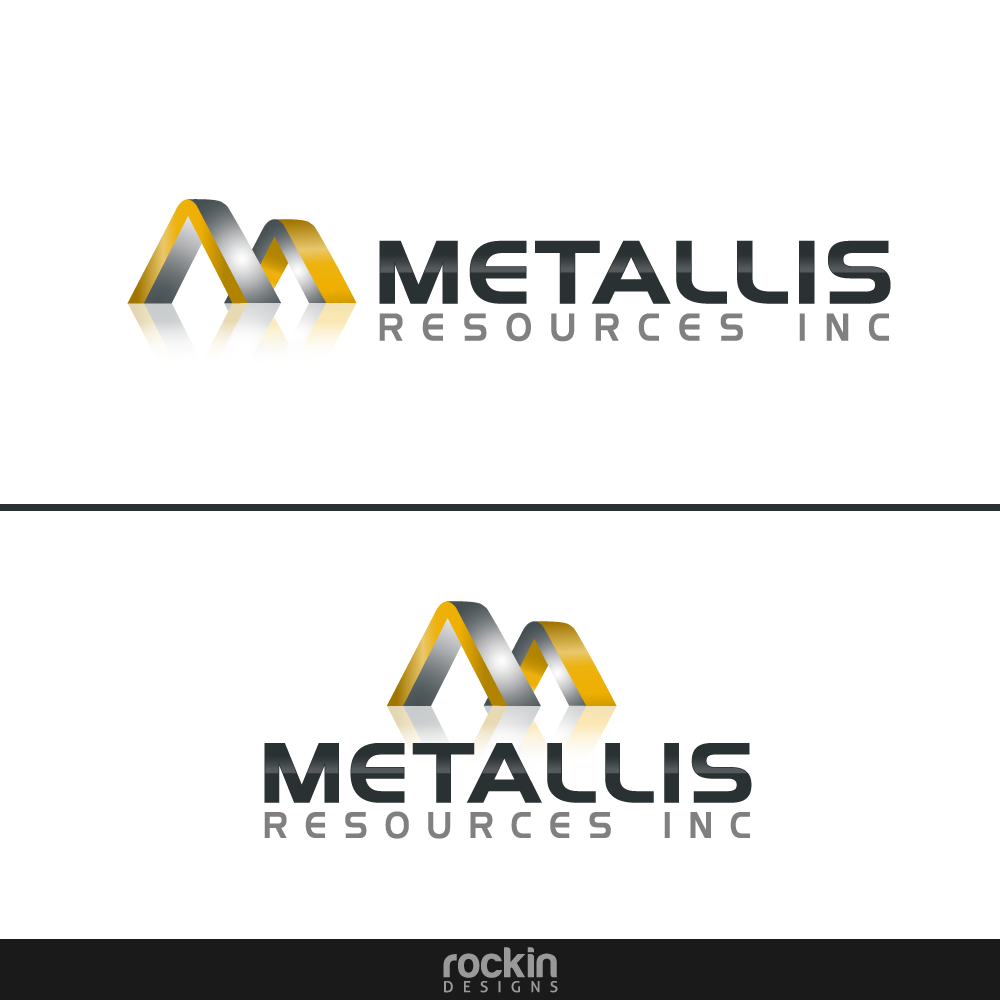 Logo Design by rockin - Entry No. 53 in the Logo Design Contest Metallis Resources Inc Logo Design.