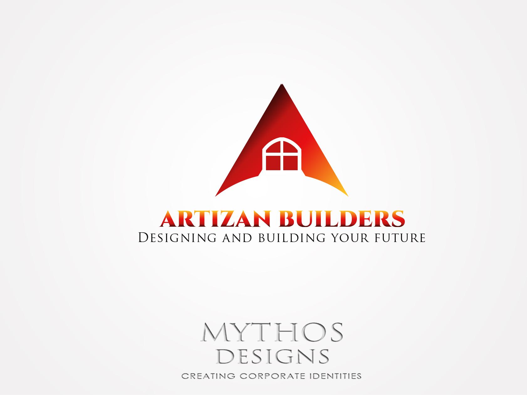 Logo Design by Mythos Designs - Entry No. 181 in the Logo Design Contest Captivating Logo Design for Artisan Builders.
