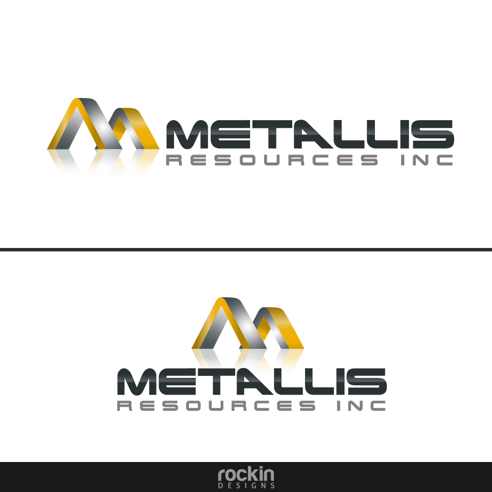 Logo Design by rockin - Entry No. 54 in the Logo Design Contest Metallis Resources Inc Logo Design.