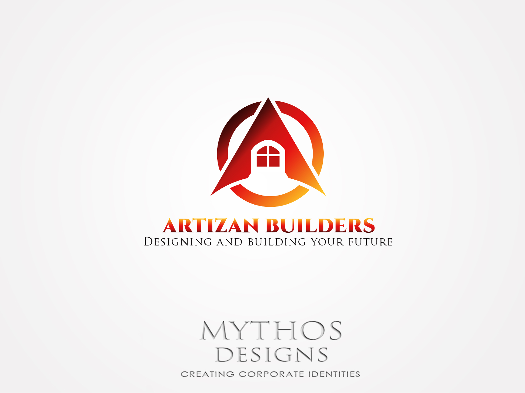 Logo Design by Mythos Designs - Entry No. 182 in the Logo Design Contest Captivating Logo Design for Artisan Builders.