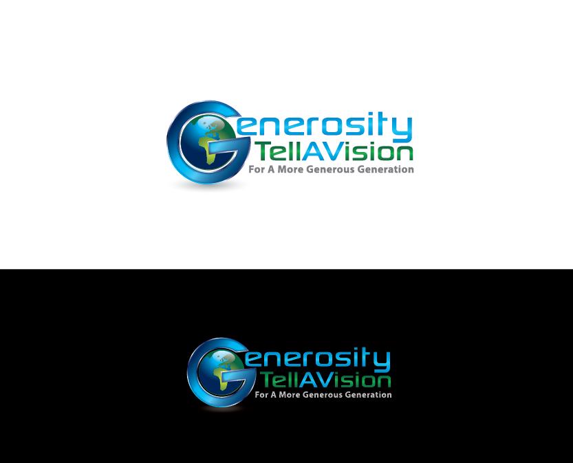 Logo Design by bcendet - Entry No. 100 in the Logo Design Contest Artistic Logo Design for Generosity TellAVision.