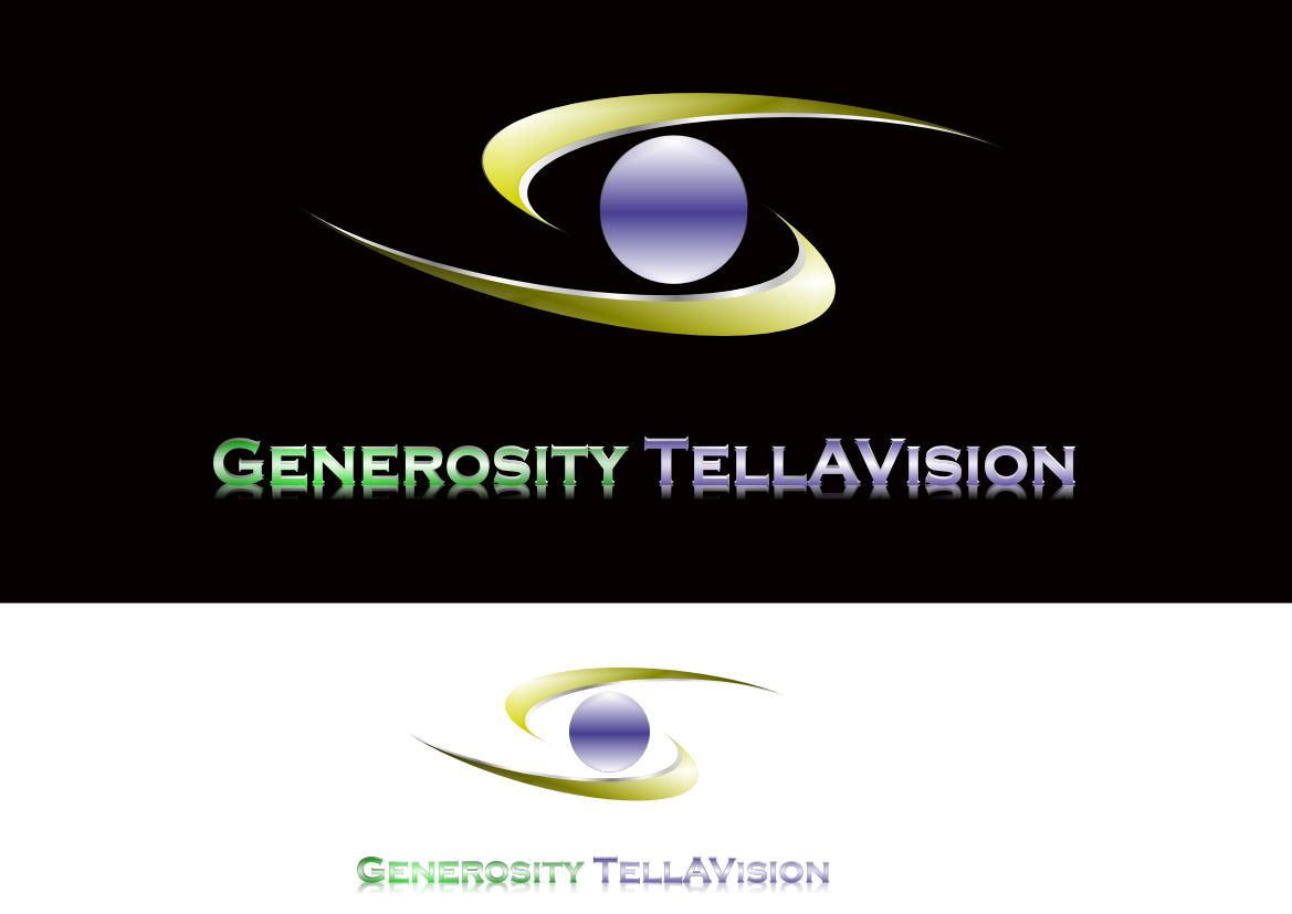 Logo Design by Heri Susanto - Entry No. 109 in the Logo Design Contest Artistic Logo Design for Generosity TellAVision.