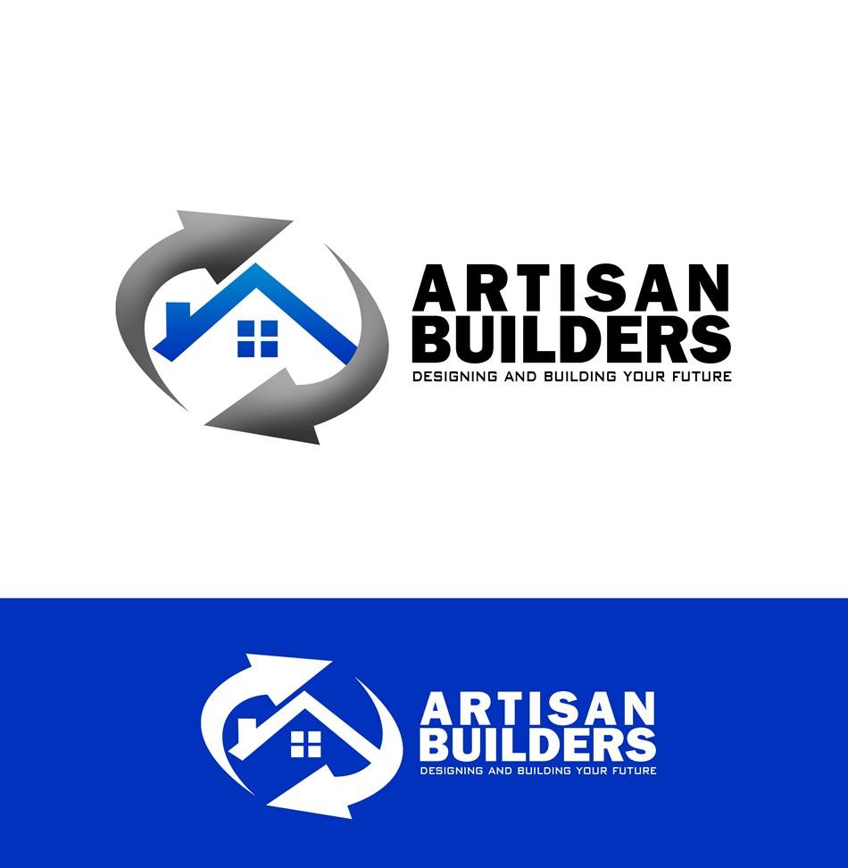 Logo Design by Respati Himawan - Entry No. 185 in the Logo Design Contest Captivating Logo Design for Artisan Builders.