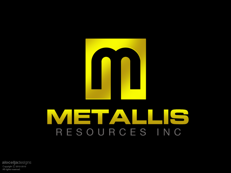 Logo Design by alocelja - Entry No. 60 in the Logo Design Contest Metallis Resources Inc Logo Design.