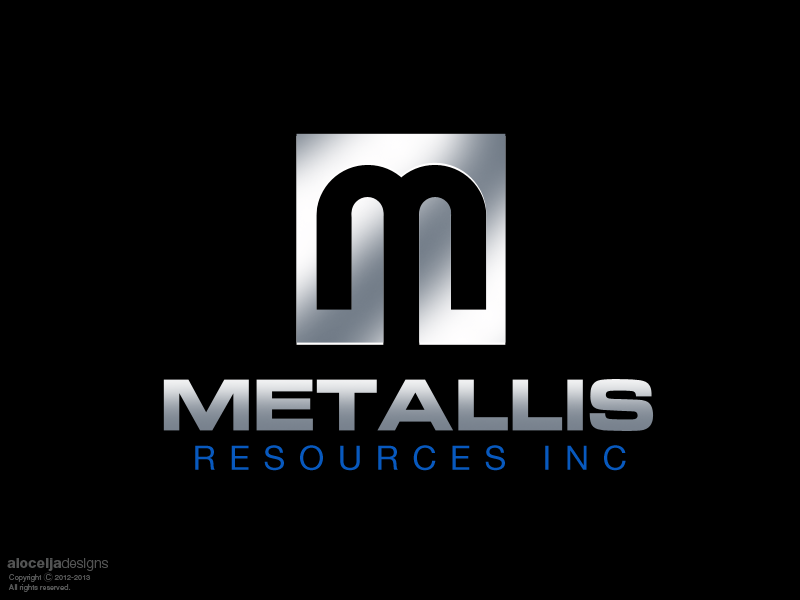 Logo Design by alocelja - Entry No. 61 in the Logo Design Contest Metallis Resources Inc Logo Design.
