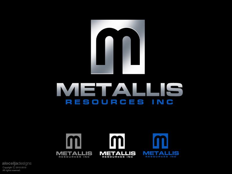 Logo Design by alocelja - Entry No. 62 in the Logo Design Contest Metallis Resources Inc Logo Design.