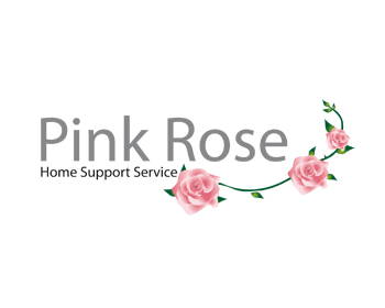 Logo Design by DINOO45 - Entry No. 11 in the Logo Design Contest Pink Rose Home Support Services.