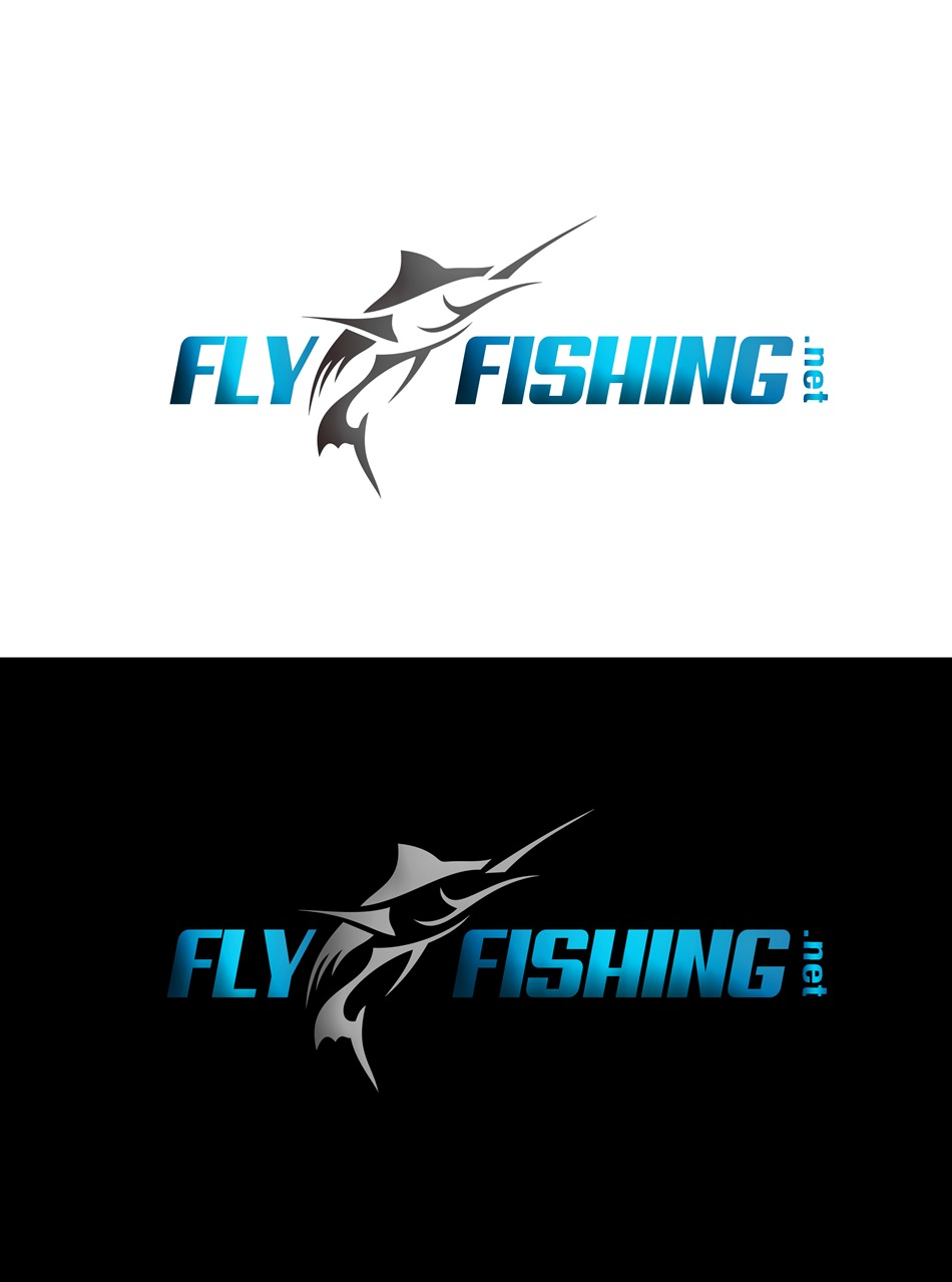 Logo Design by Respati Himawan - Entry No. 75 in the Logo Design Contest Artistic Logo Design for fly-fishing.net.