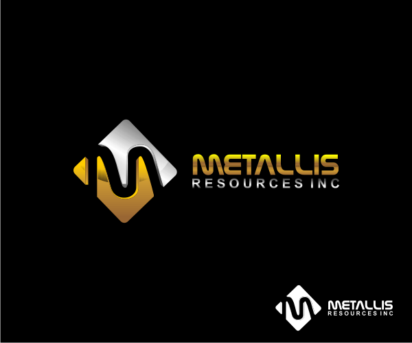 Logo Design by Deni Prawira - Entry No. 64 in the Logo Design Contest Metallis Resources Inc Logo Design.