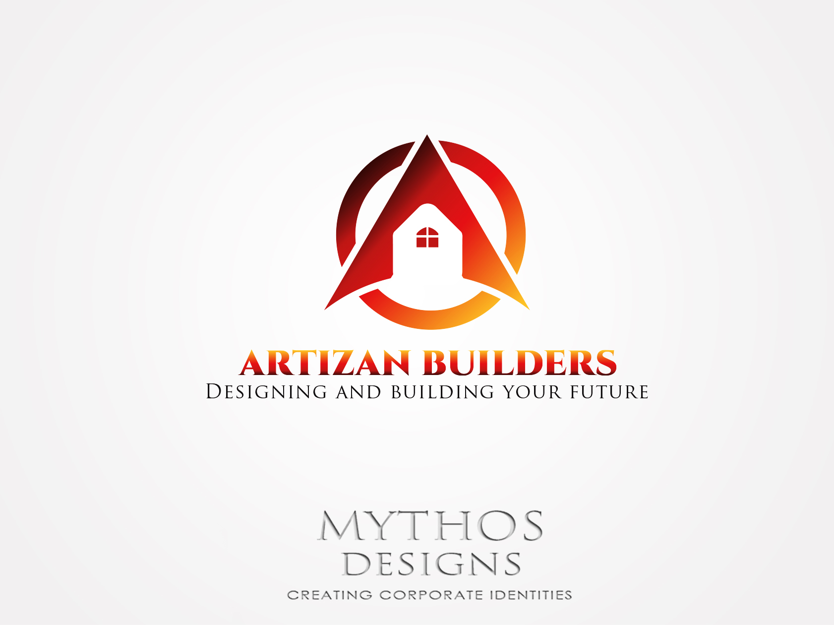 Logo Design by Mythos Designs - Entry No. 189 in the Logo Design Contest Captivating Logo Design for Artisan Builders.