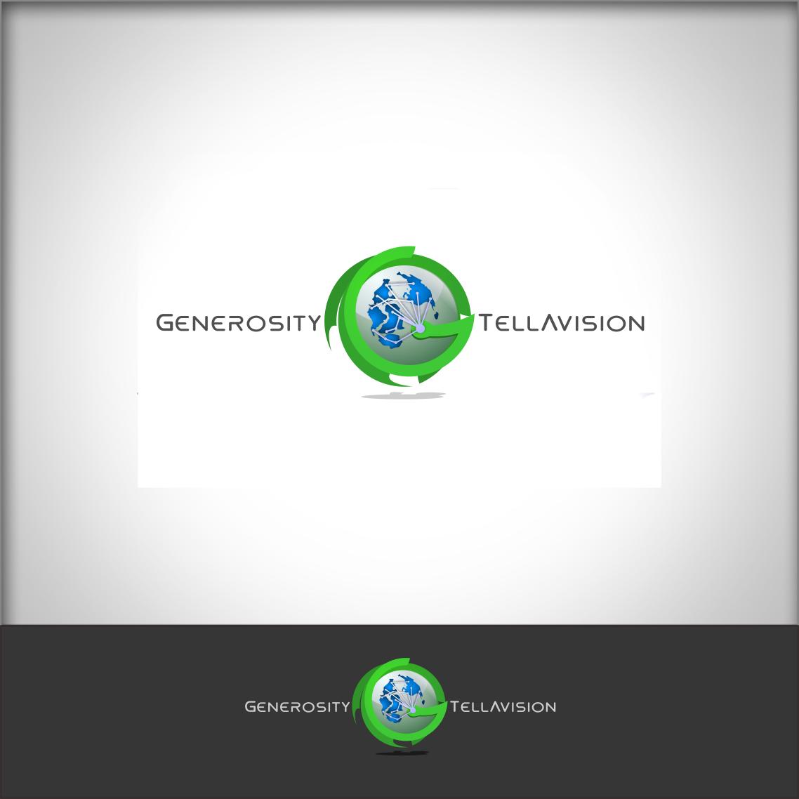 Logo Design by Private User - Entry No. 114 in the Logo Design Contest Artistic Logo Design for Generosity TellAVision.