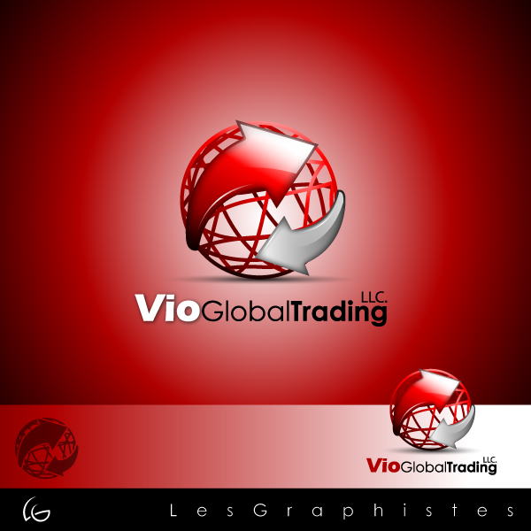 Logo Design by Les-Graphistes - Entry No. 2 in the Logo Design Contest Vio Global Trading, LLC.