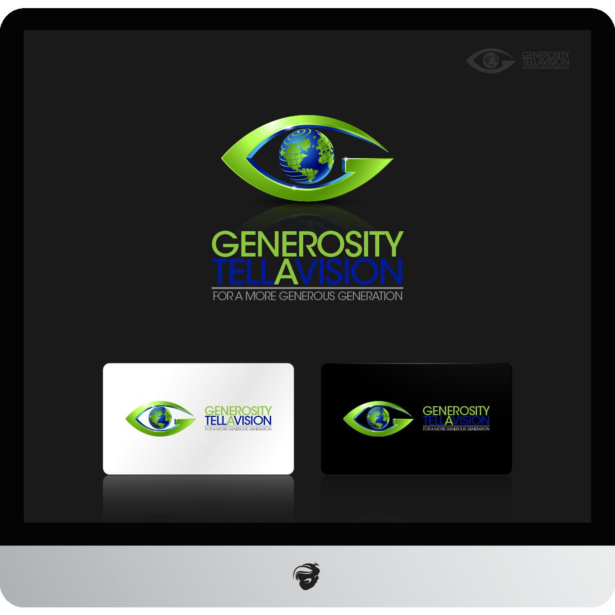 Logo Design by zesthar - Entry No. 115 in the Logo Design Contest Artistic Logo Design for Generosity TellAVision.