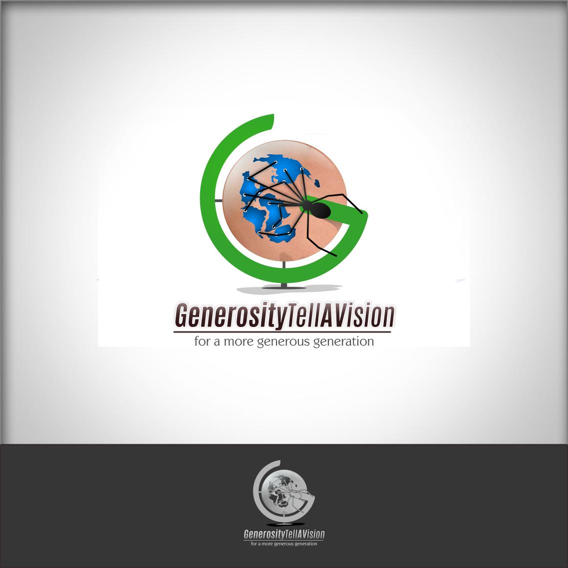 Logo Design by Private User - Entry No. 116 in the Logo Design Contest Artistic Logo Design for Generosity TellAVision.