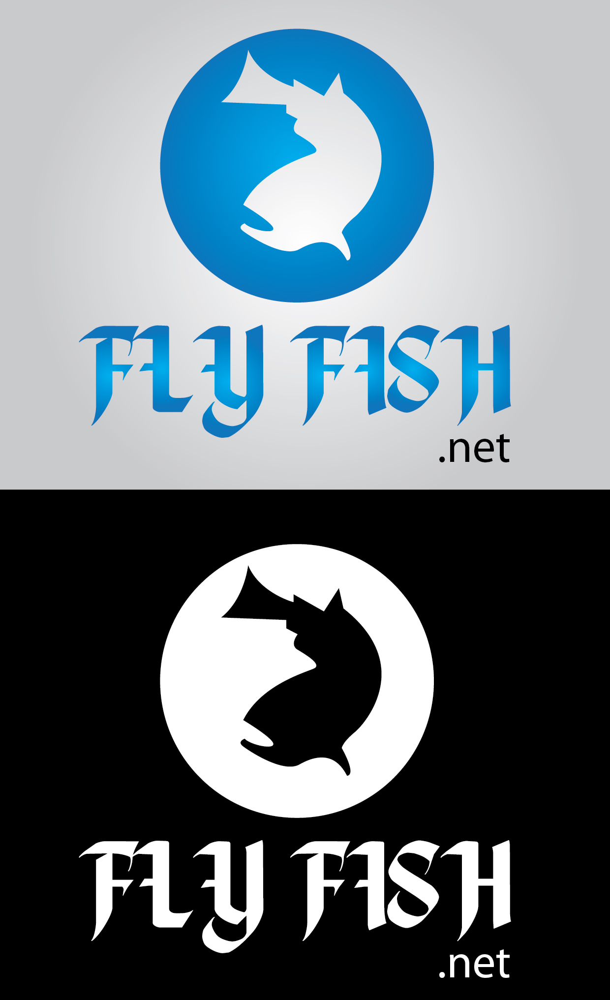 Logo Design by mediaproductionart - Entry No. 77 in the Logo Design Contest Artistic Logo Design for fly-fishing.net.