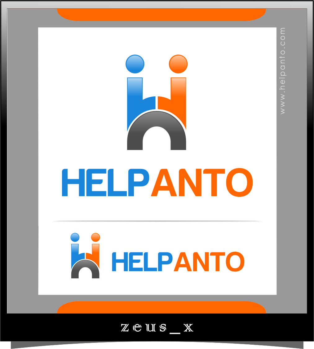 Logo Design by Ngepet_art - Entry No. 28 in the Logo Design Contest Artistic Logo Design for helpanto.