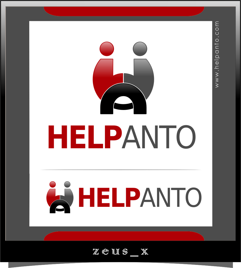 Logo Design by RoSyid Rono-Rene On Java - Entry No. 31 in the Logo Design Contest Artistic Logo Design for helpanto.