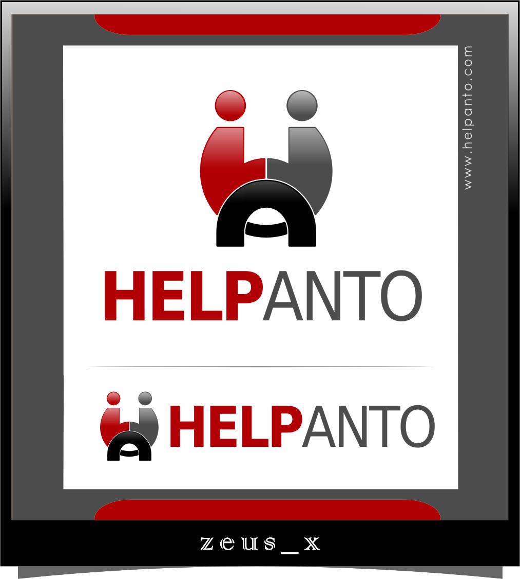 Logo Design by RasYa Muhammad Athaya - Entry No. 31 in the Logo Design Contest Artistic Logo Design for helpanto.