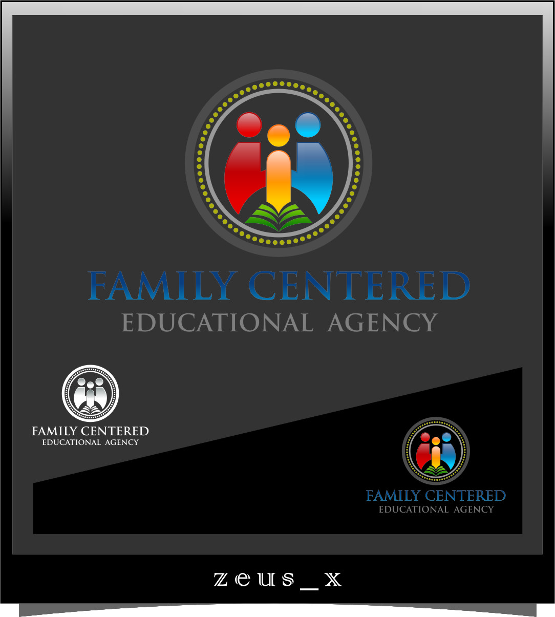Logo Design by Ngepet_art - Entry No. 48 in the Logo Design Contest Captivating Logo Design for Family Centered Educational Agency.