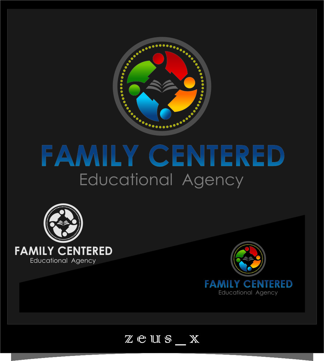 Logo Design by RasYa Muhammad Athaya - Entry No. 52 in the Logo Design Contest Captivating Logo Design for Family Centered Educational Agency.
