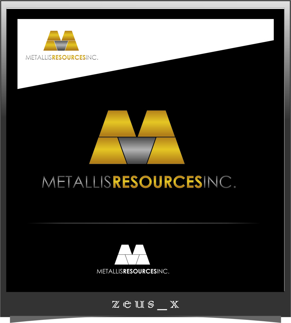 Logo Design by Ngepet_art - Entry No. 73 in the Logo Design Contest Metallis Resources Inc Logo Design.