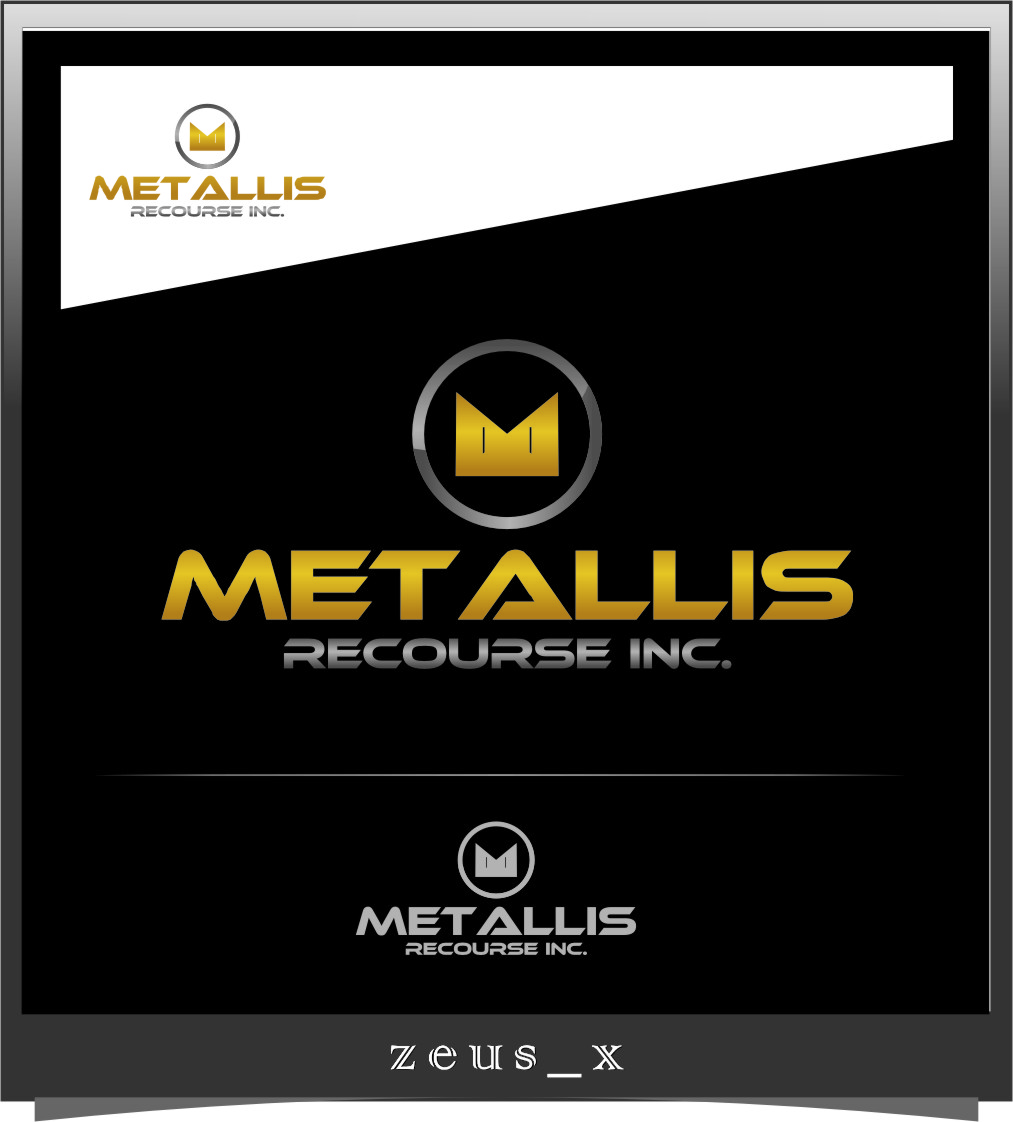 Logo Design by RoSyid Rono-Rene On Java - Entry No. 76 in the Logo Design Contest Metallis Resources Inc Logo Design.