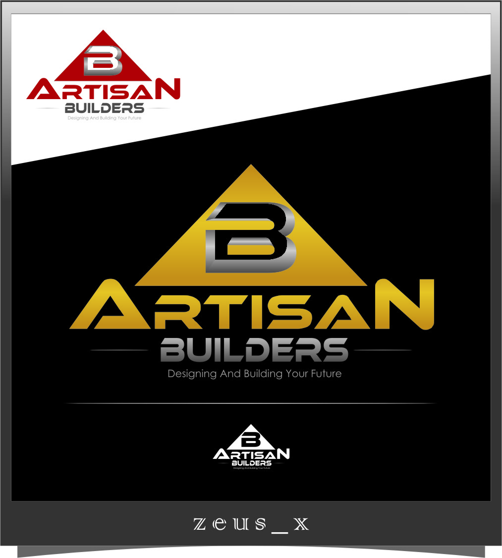 Logo Design by Ngepet_art - Entry No. 196 in the Logo Design Contest Captivating Logo Design for Artisan Builders.