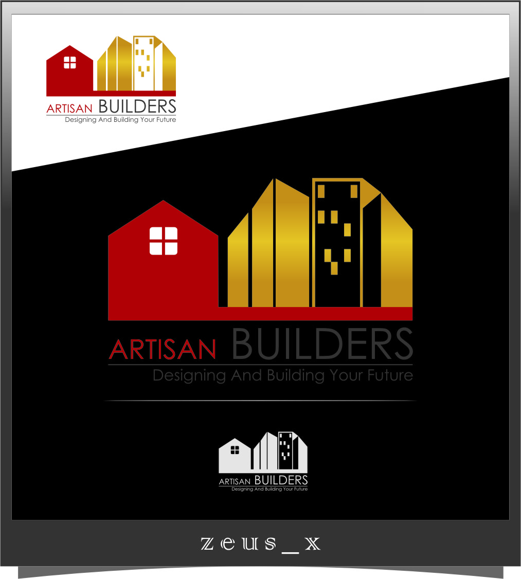 Logo Design by RasYa Muhammad Athaya - Entry No. 199 in the Logo Design Contest Captivating Logo Design for Artisan Builders.
