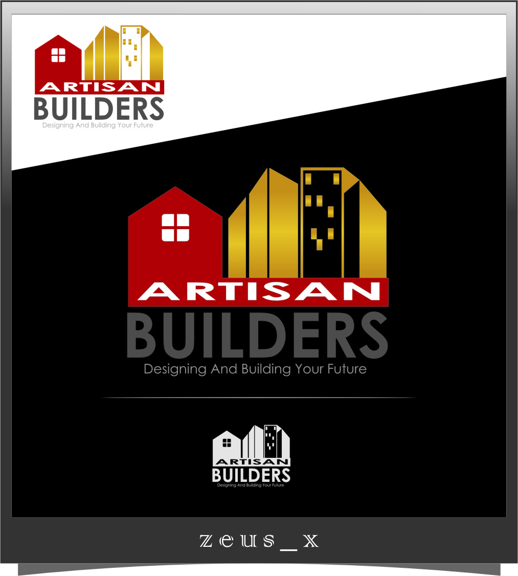 Logo Design by RasYa Muhammad Athaya - Entry No. 200 in the Logo Design Contest Captivating Logo Design for Artisan Builders.