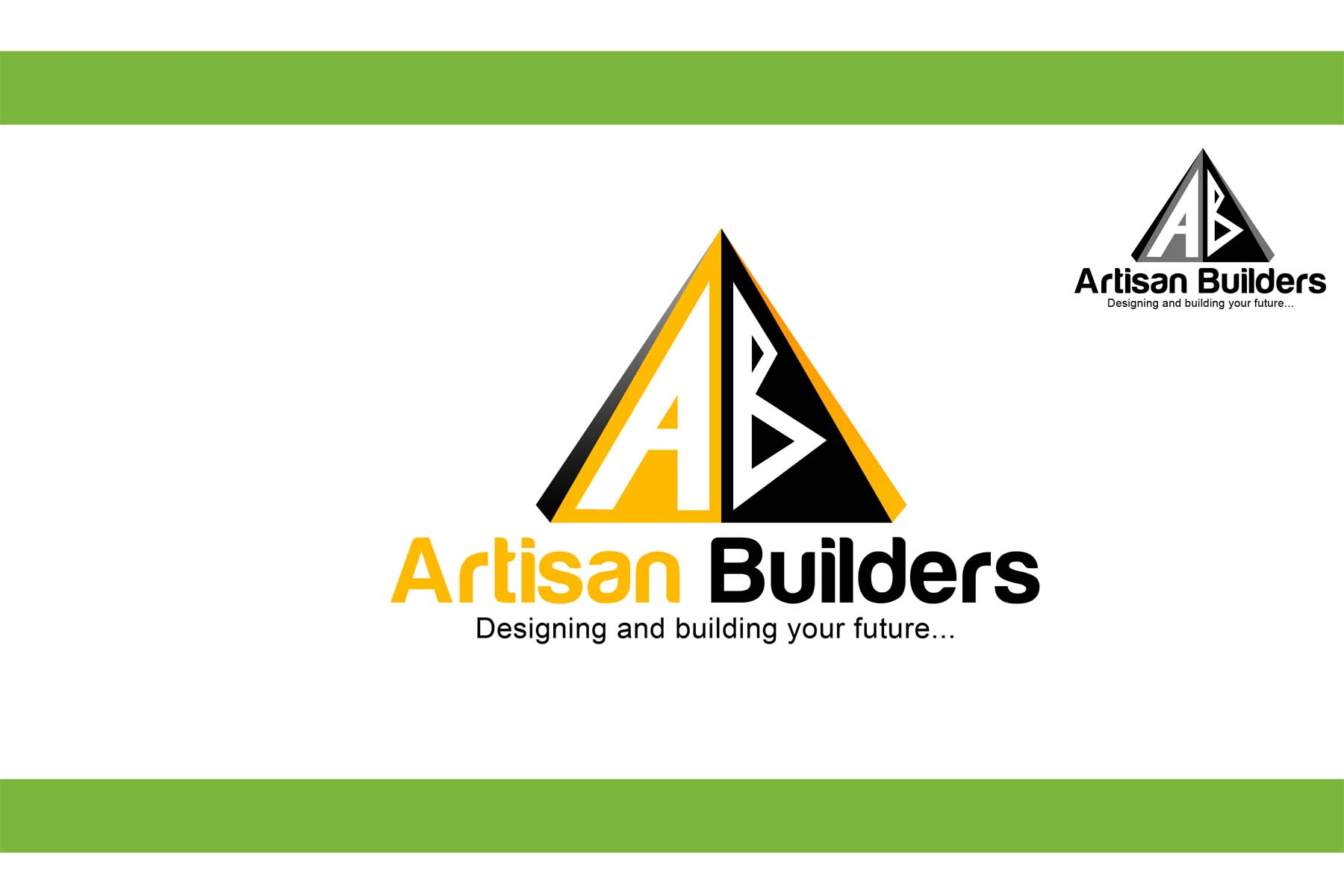 Logo Design by Private User - Entry No. 203 in the Logo Design Contest Captivating Logo Design for Artisan Builders.