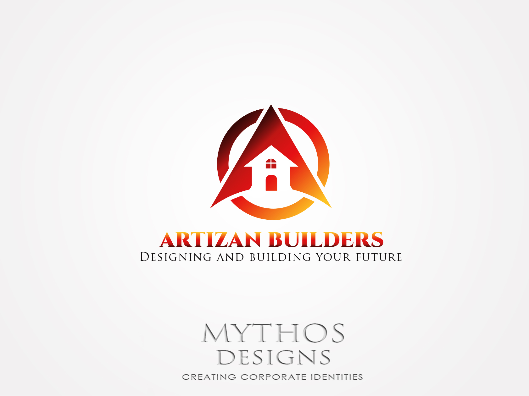 Logo Design by Mythos Designs - Entry No. 206 in the Logo Design Contest Captivating Logo Design for Artisan Builders.