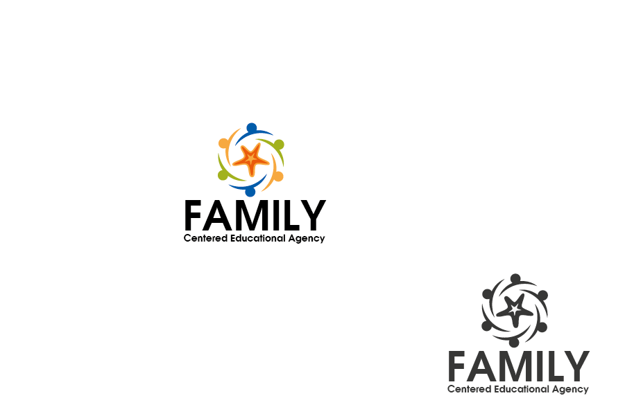 Logo Design by Private User - Entry No. 55 in the Logo Design Contest Captivating Logo Design for Family Centered Educational Agency.