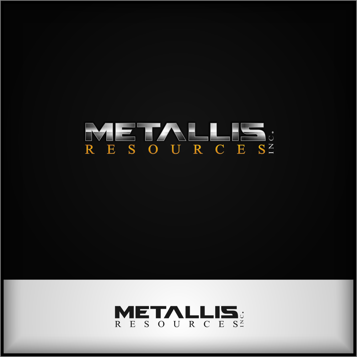 Logo Design by Private User - Entry No. 77 in the Logo Design Contest Metallis Resources Inc Logo Design.