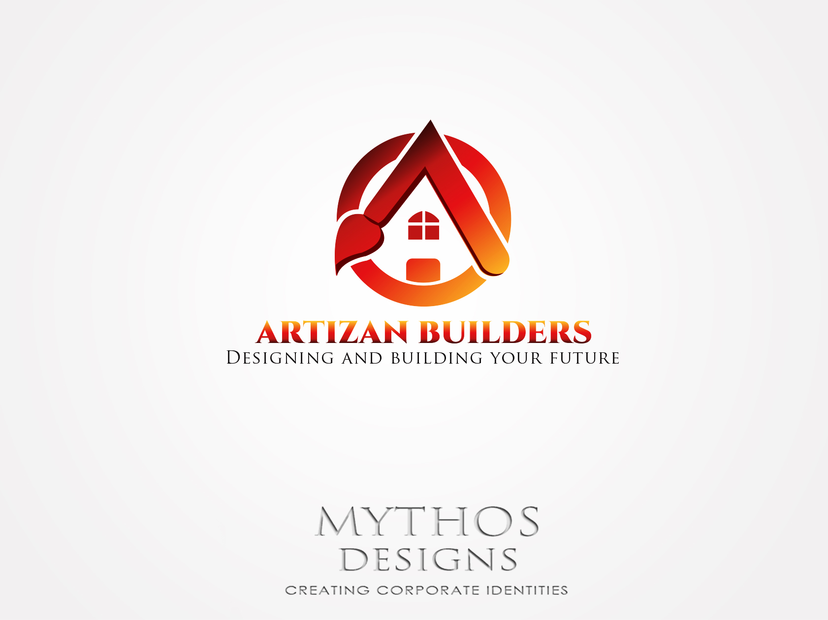 Logo Design by Mythos Designs - Entry No. 207 in the Logo Design Contest Captivating Logo Design for Artisan Builders.