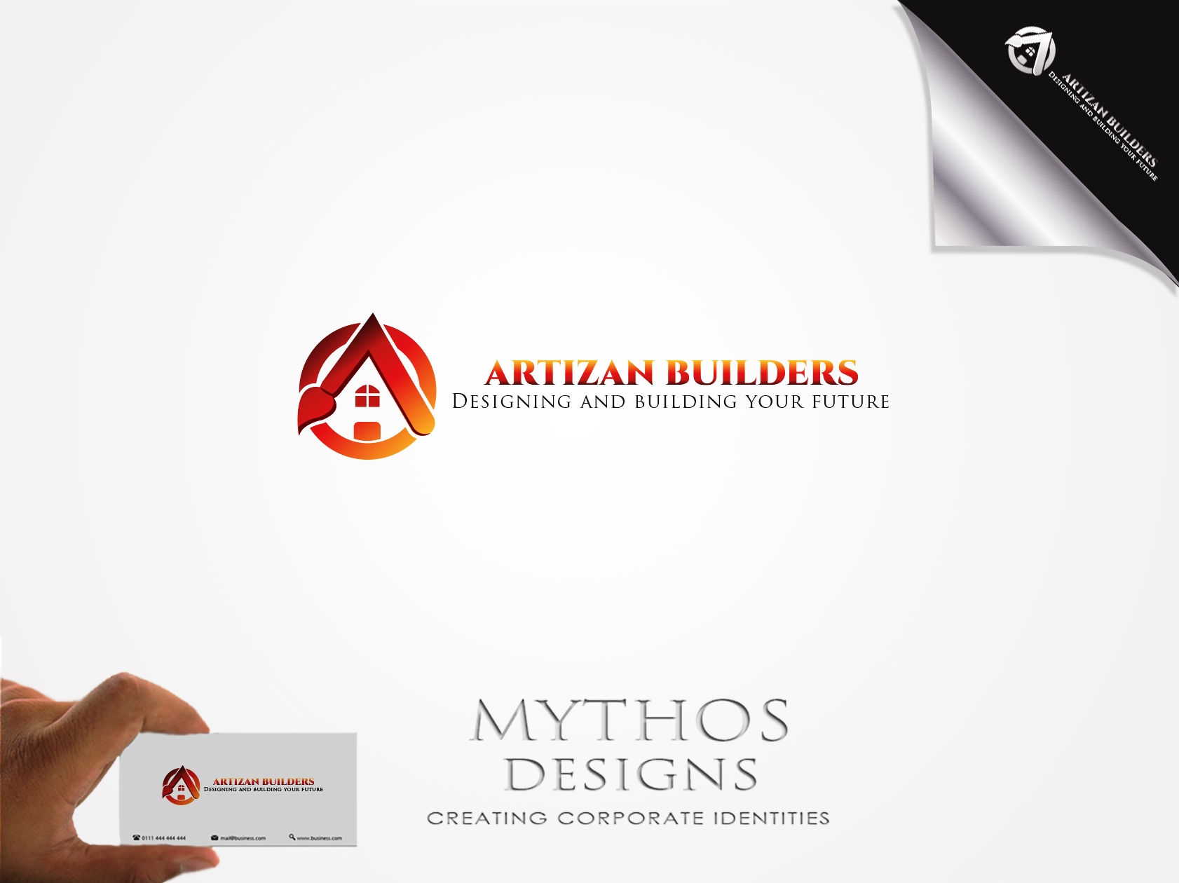Logo Design by Mythos Designs - Entry No. 208 in the Logo Design Contest Captivating Logo Design for Artisan Builders.