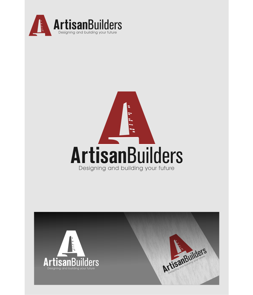 Logo Design by graphicleaf - Entry No. 209 in the Logo Design Contest Captivating Logo Design for Artisan Builders.