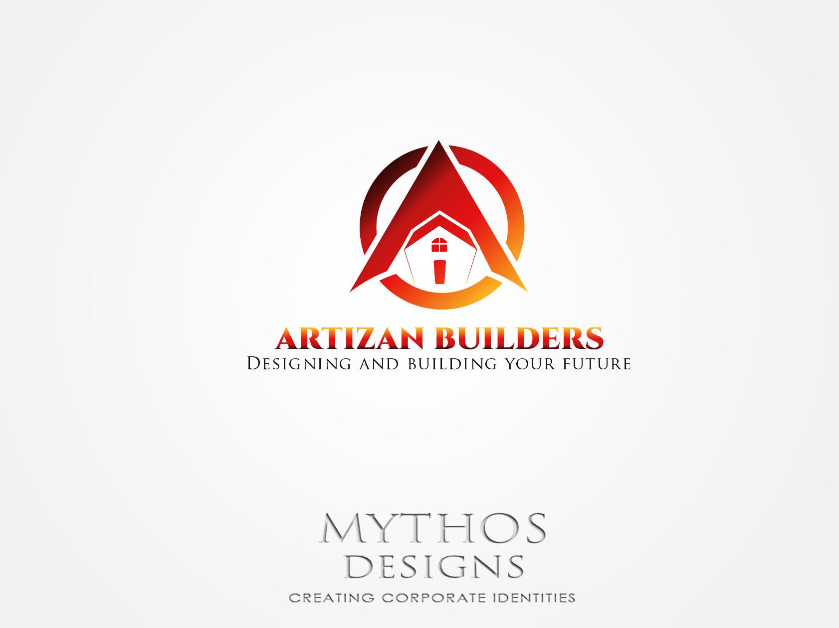 Logo Design by Mythos Designs - Entry No. 210 in the Logo Design Contest Captivating Logo Design for Artisan Builders.