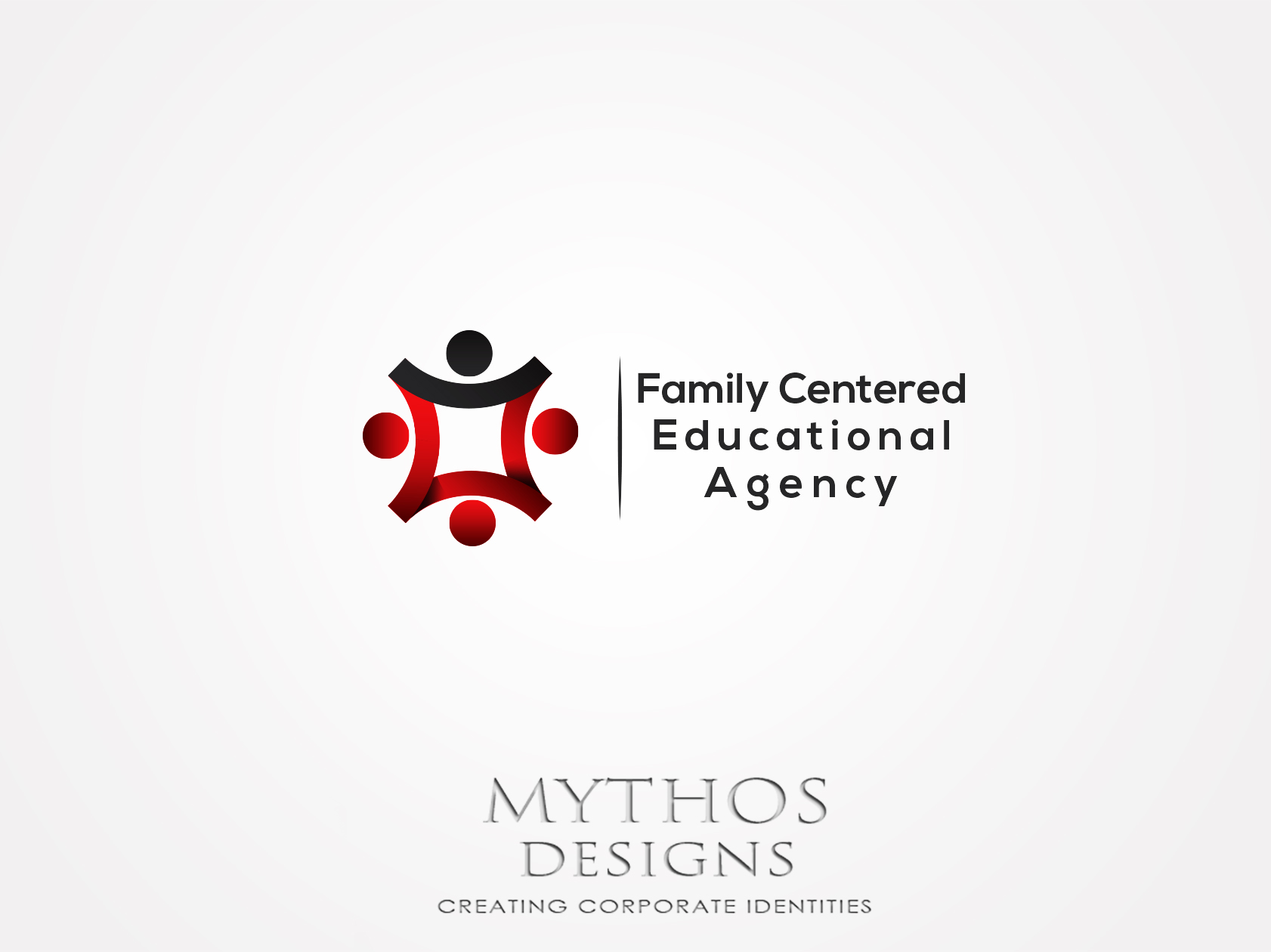 Logo Design by Mythos Designs - Entry No. 59 in the Logo Design Contest Captivating Logo Design for Family Centered Educational Agency.