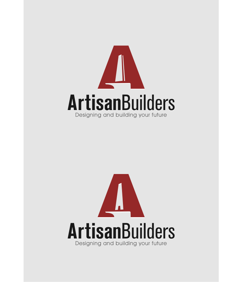Logo Design by graphicleaf - Entry No. 212 in the Logo Design Contest Captivating Logo Design for Artisan Builders.