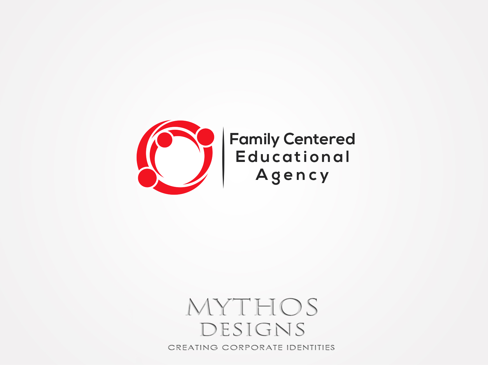 Logo Design by Mythos Designs - Entry No. 60 in the Logo Design Contest Captivating Logo Design for Family Centered Educational Agency.